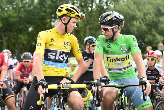 Peter Sagan and Chris Froome light up the Tour de France